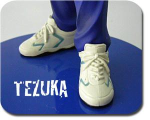 手塚国光のフィギュアの靴
