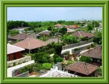 竹富島の村落