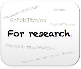 リハビリ関連卒業研究・研究者向けコンテンツ | イメージ