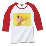 Cute Angel.3-3/4リブラグランTシャツ