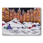 雪猫.4- ジグソーパズル
