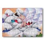 雪猫.5- ジグソーパズル