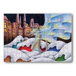雪猫.6- ジグソーパズル