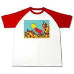 太陽.2- ラグランTシャツ
