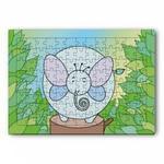 象キャラクターのランチョンマット・ジグソーパズル