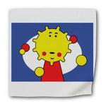 太陽キャラクターの枕・角型クッション・エプロン他