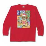 テディベアのクリスマス・ジャージィー長袖Tシャツ他