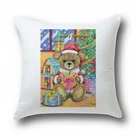 テディベアのクリスマス、メモ帳・丸型・角型クッション