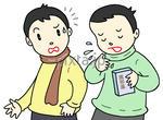 風邪 - 空気(飛沫)感染