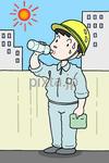 熱中症予防、水分・塩分補給