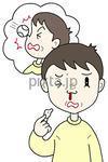 健康関連イラスト・素材 「鼻血・鼻の怪我」