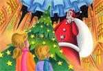 サンタクロース・クリスマスツリー