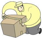 梱包作業・箱詰め作業・宅配業