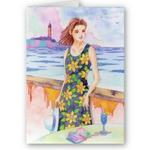 「水彩画・女性イラスト - 日常風景」のオリジナルプリントグッズ