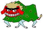 画像データ販売 「2011年・年賀状用素材 -  獅子舞」