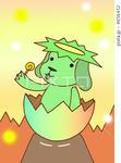 河童・ペロペロキャンデー・卵の殻・犬・マスコットキャラクター