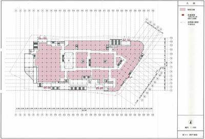 地上3階フロア図