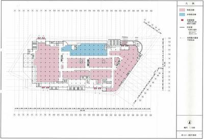 地上4階フロア図