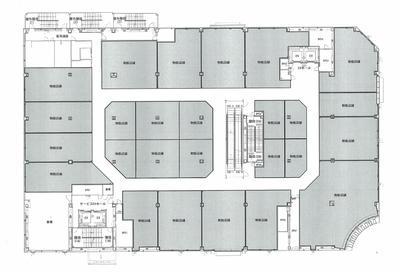 東街区商業施設3階フロア図