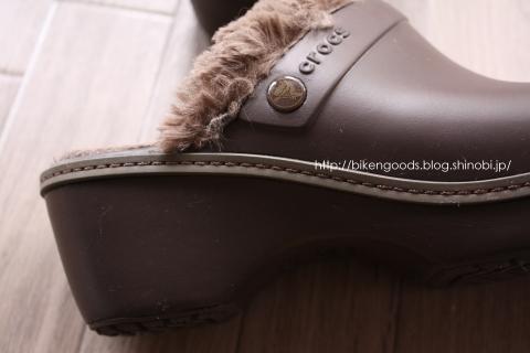 crocs cobbler eva lined clog ヒール