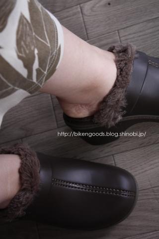 crocs cobbler eva lined clog 履いた