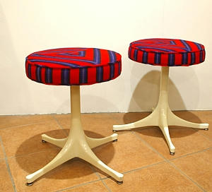 Gerorge Nelson Swag Stool Millerstripe