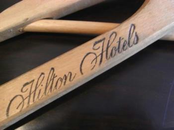 Hilton Hotel Hanger