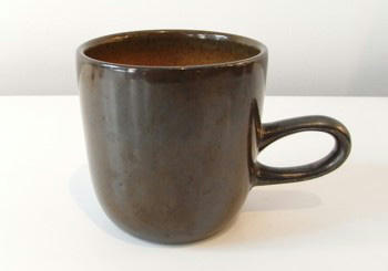 Heath Ceramics Studio Mug Metallic pumpkin