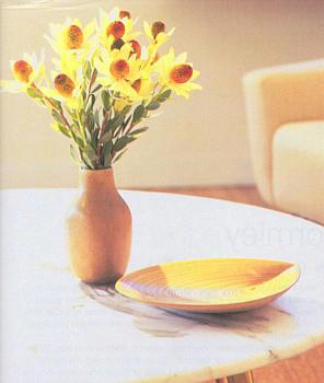 Bowl by Tapio Wirkkala, Nymolle ceramic vase