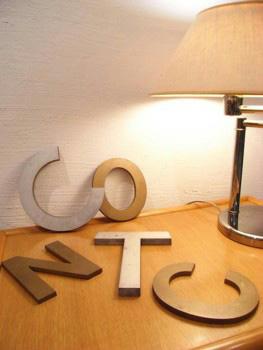 Metal Letter Alphabet 切り文字