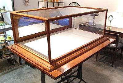 Antique Display Glass Show Case