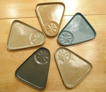 Bennington Potters Snack Plate
