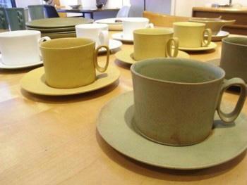 Bennington Potters Cup & Saucer