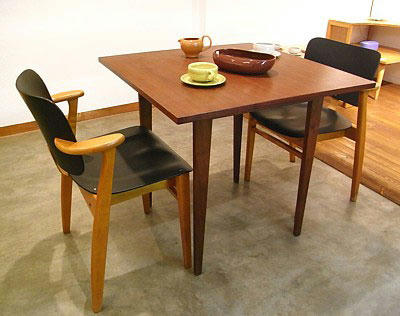 Vintage DIning Table & Domus Chair