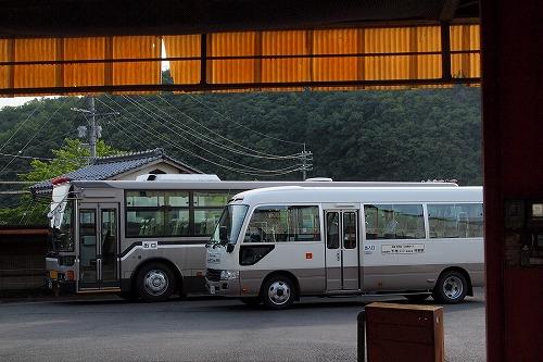 赤磐市広域路線バスに乗車 ひい...