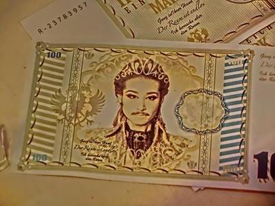 帝国マルク紙幣!