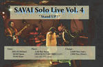 SAVAI SOLO LIVE VOL.4