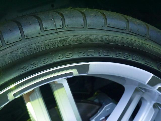 ハイエースワゴン 18インチ 加重指数対応タイヤ