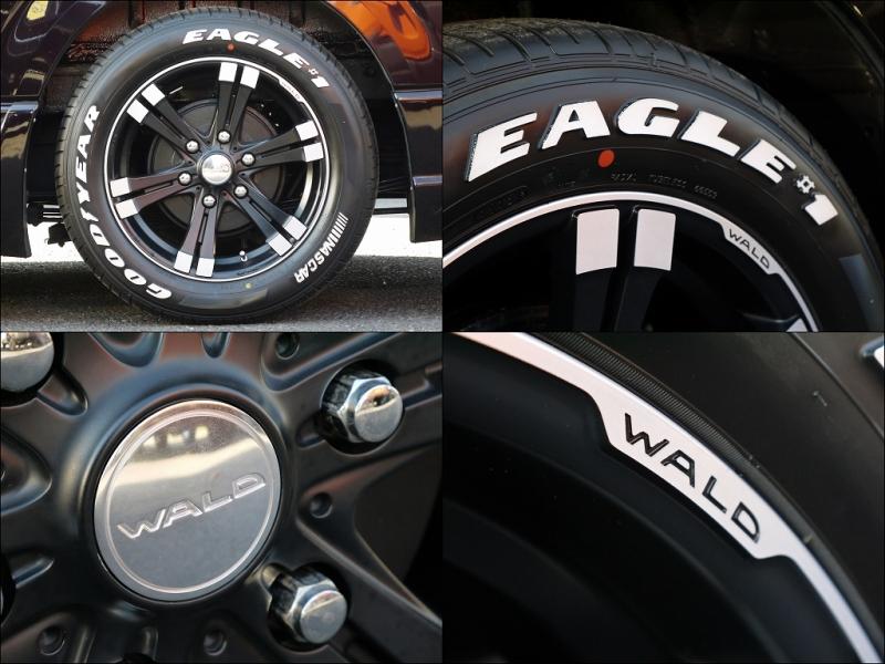 ハイエース200用 WALD レノヴァティオスポーツ 17インチ