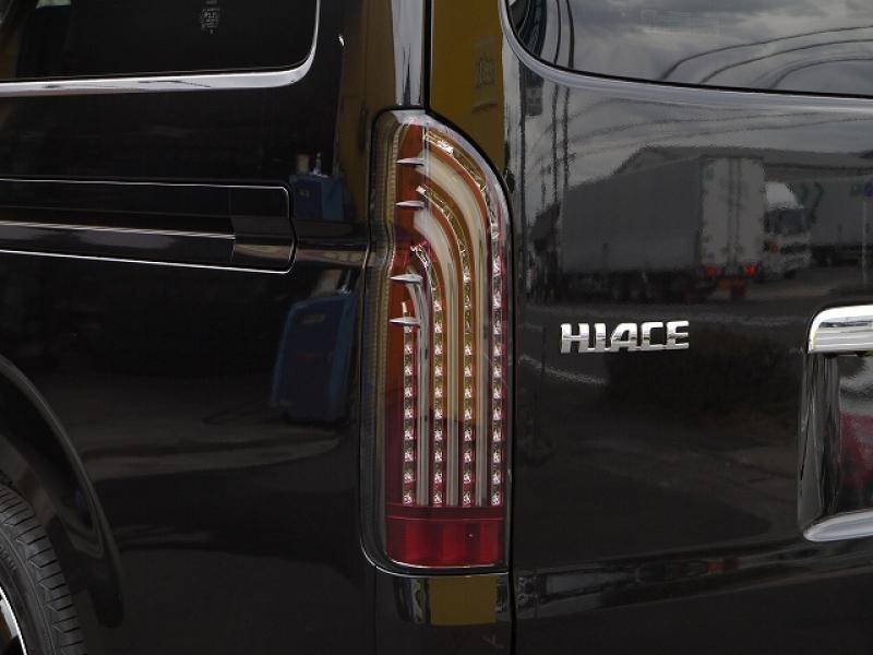 ハイエース200用 415コブラ ライトセイバー