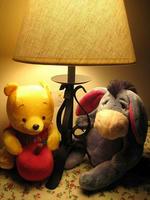 **Baby Pooh & イーヨー(Spelling分かんないや)**