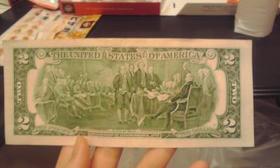 2ドル札(裏)