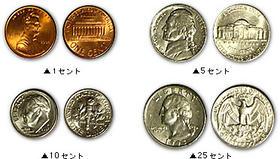 アメリカ コイン