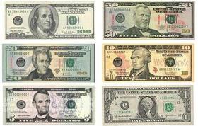 アメリカ ドル札