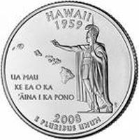 Hawaiiの25セント