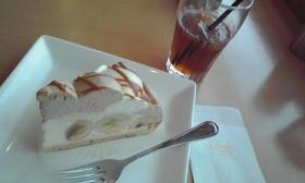紅茶とキャラメルのバナナケーキ