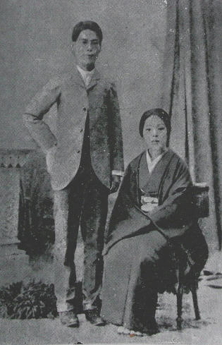 北村透谷夫妻
