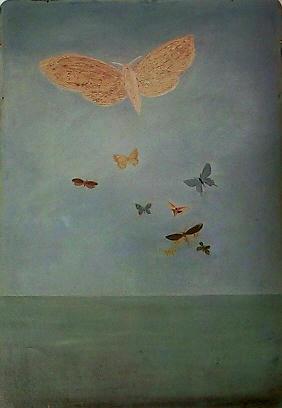 海洋を渡る蝶