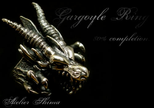 Gargoyle Ring 80% Completion.
