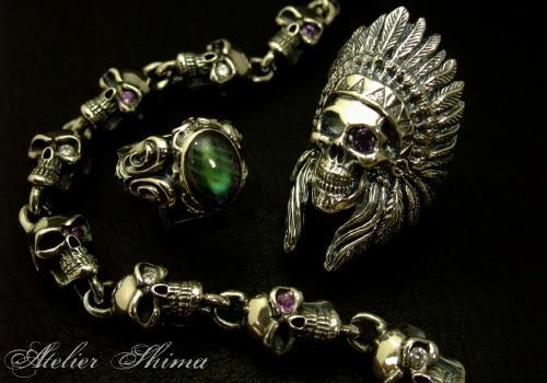 贅沢に宝石をちりばめたカスタムアイテム